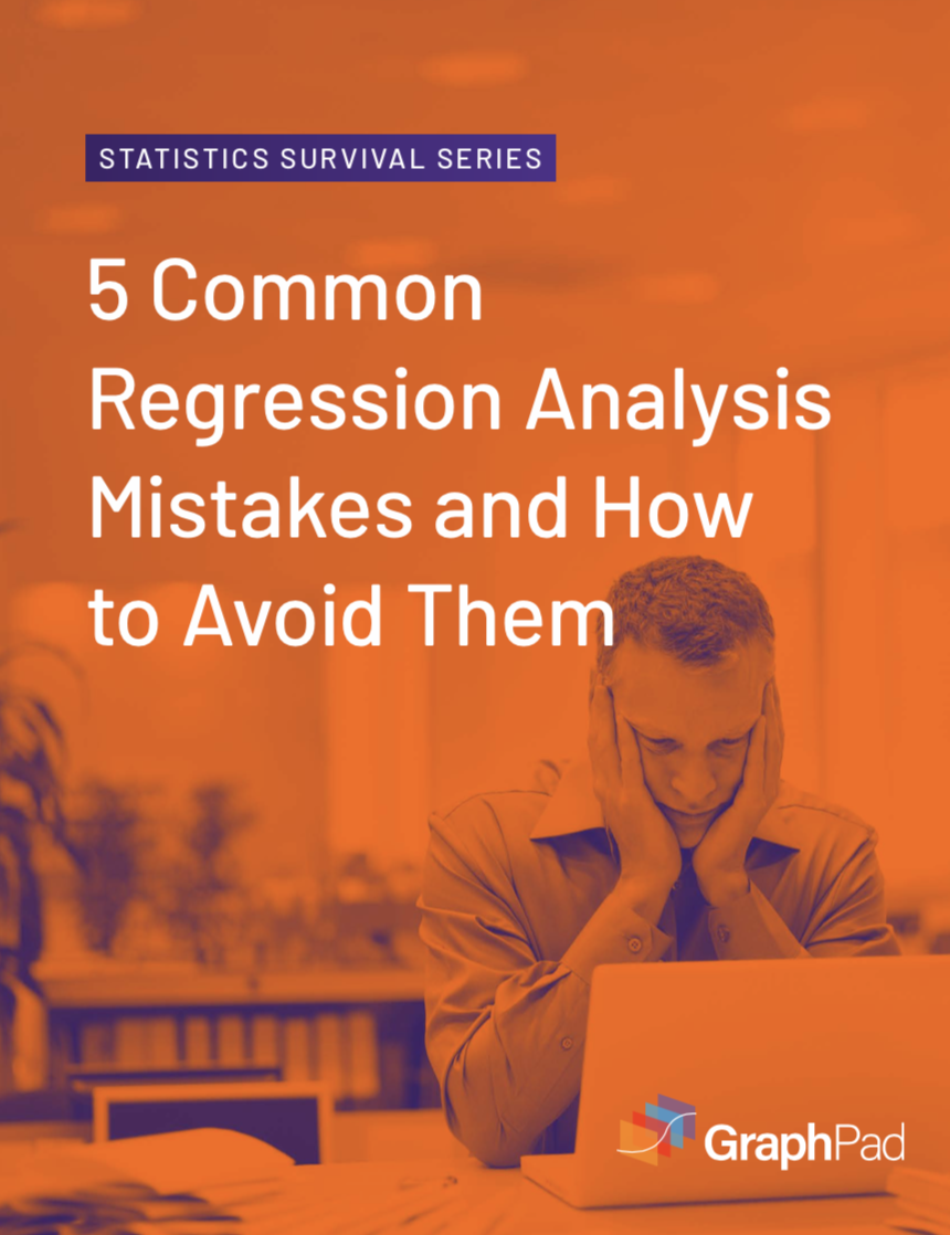 Common Regression Analysis Mistakes Ebook Cover